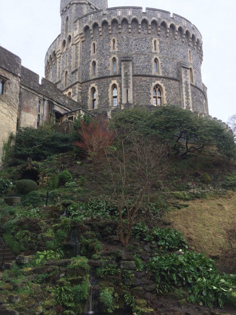 Une petite partie du château