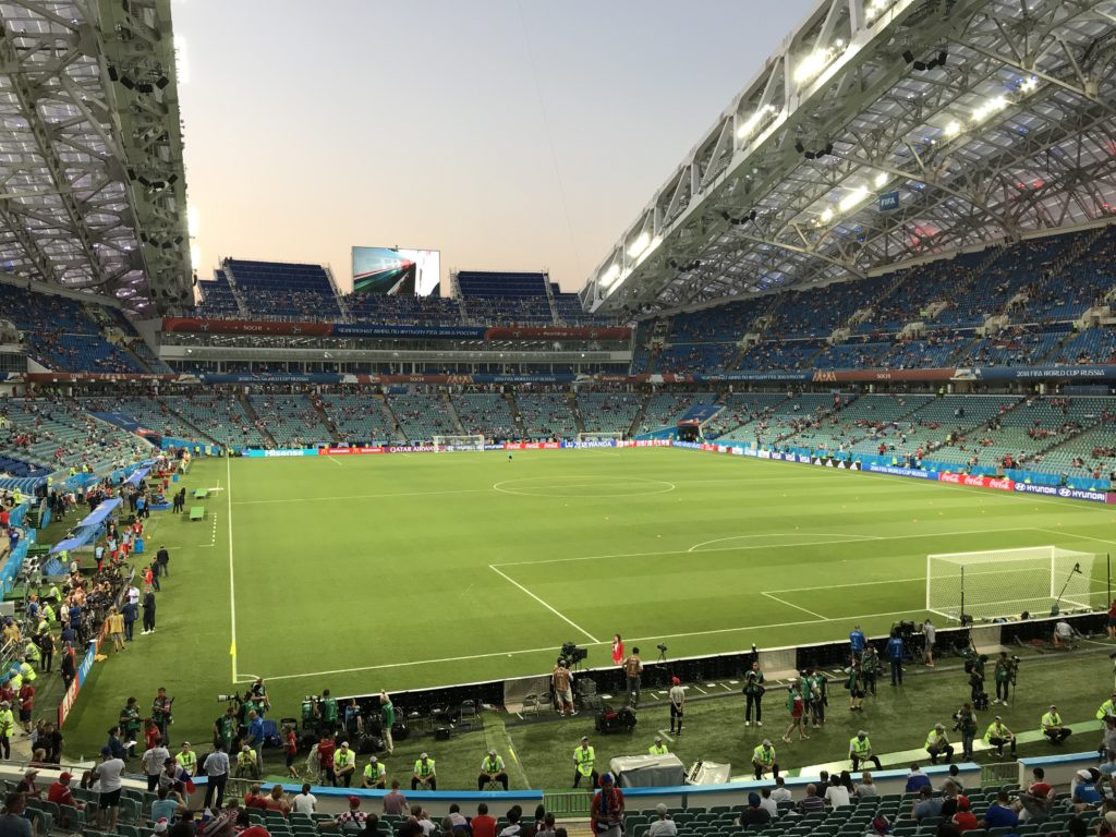 La FIFA en Russie!